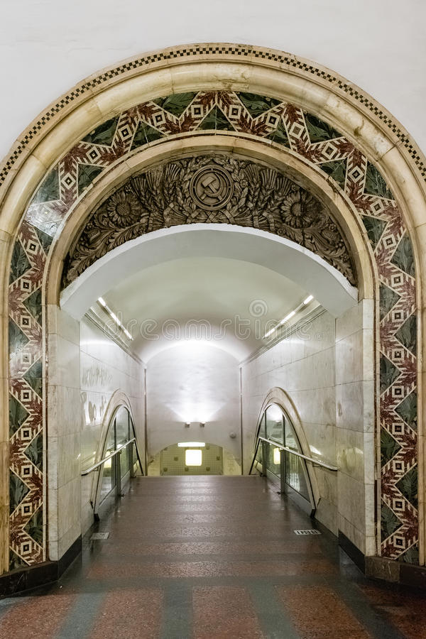 线路, 设计, 雕塑, 莫斯科, 内部, 地铁, 户内, 艺术, 人们, 欧洲图片