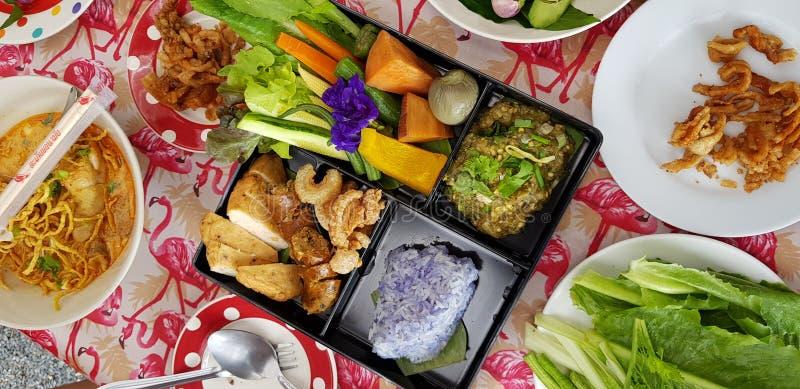 在bento的北食物 免版税库存照片