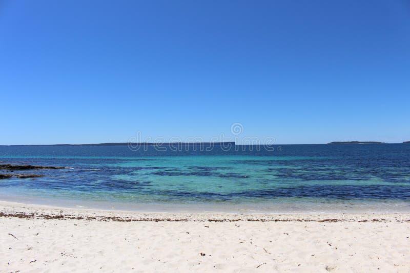 在Booderee国家公园的Hyams海滩 免版税库存照片