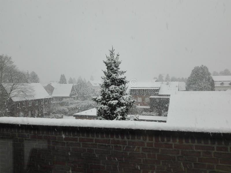 在Brueggen的圣诞节 库存照片