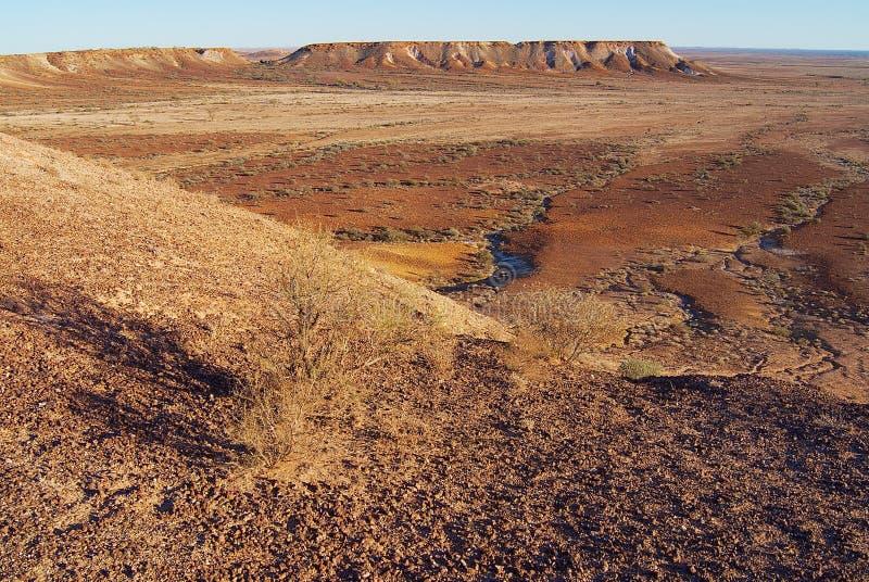 在Coober Pedy附近的脱离储备在南澳大利亚,澳大利亚 库存照片