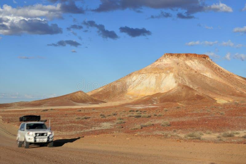 在Coober Pedy,南澳大利亚附近的脱离储备 库存图片