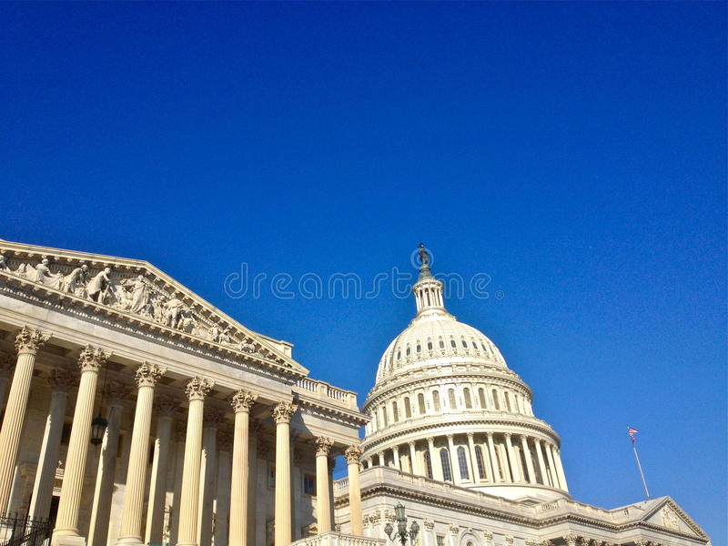 在DC的看法 免版税图库摄影