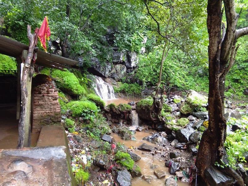 在devmogara的瀑布 免版税库存照片