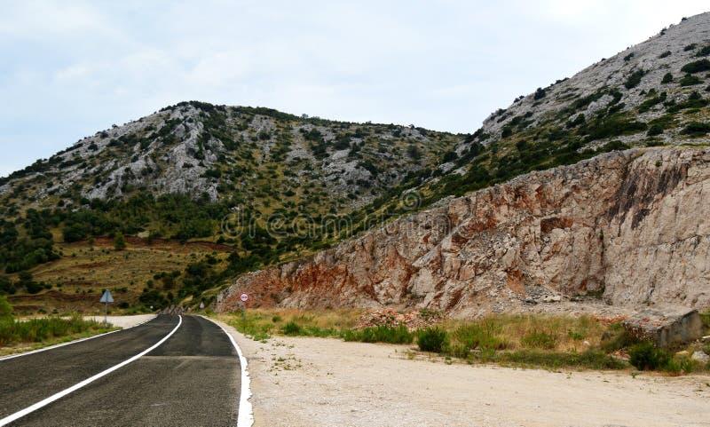 在Dugi Otok克罗地亚的旅行 库存照片