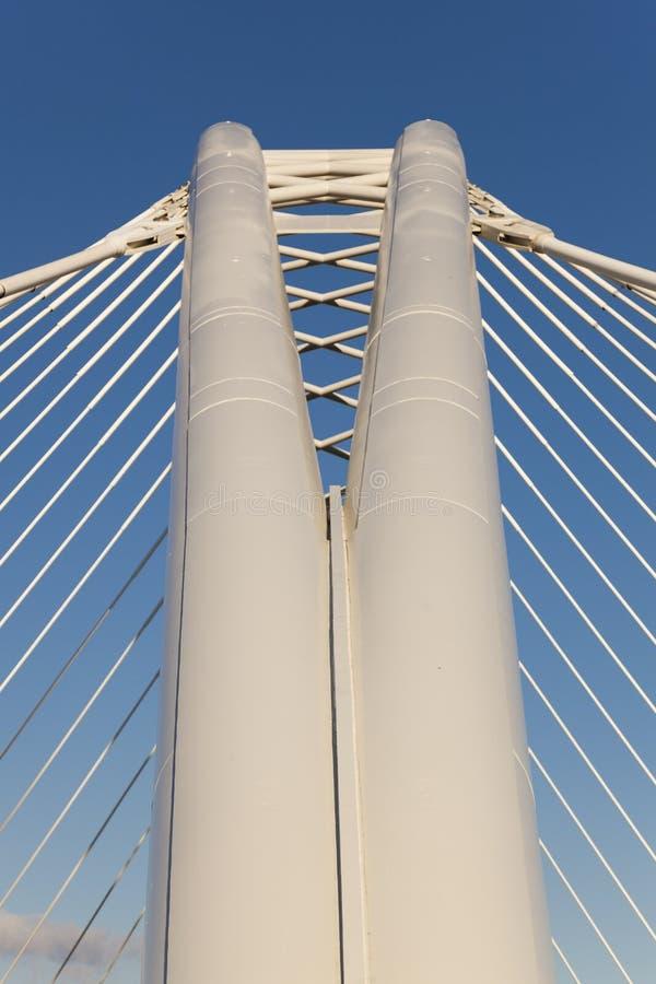 在Ebro的桥梁, Logroño 免版税图库摄影
