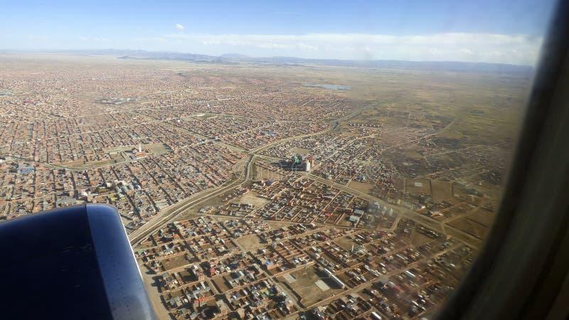 在El女低音的离地升空 玻利维亚,南美 库存图片