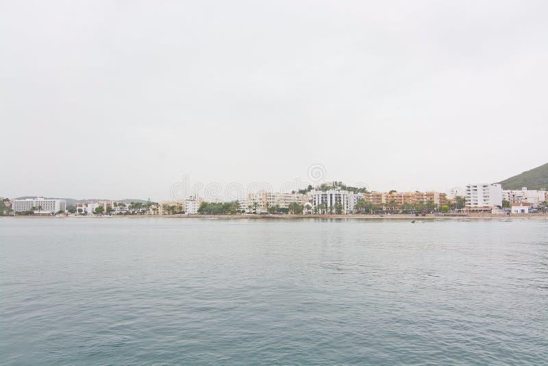 在ES Canar的海滩 图库摄影