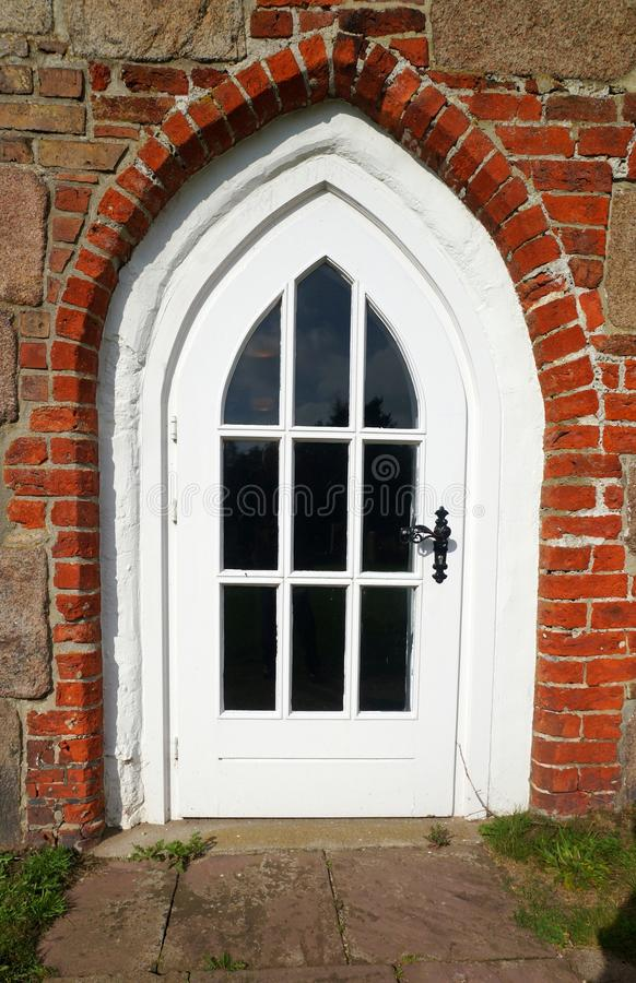 在Foehr海岛上的教会 免版税库存照片