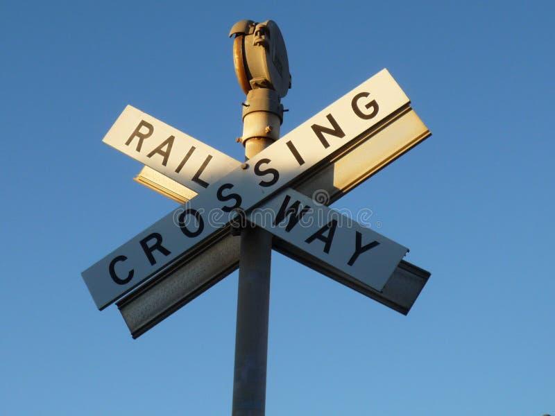 在Fremantle的铁路 库存照片