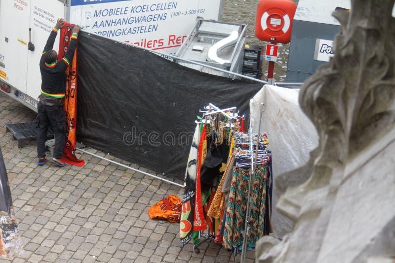 在Gentse Festen期间的绅士2012 12 库存图片