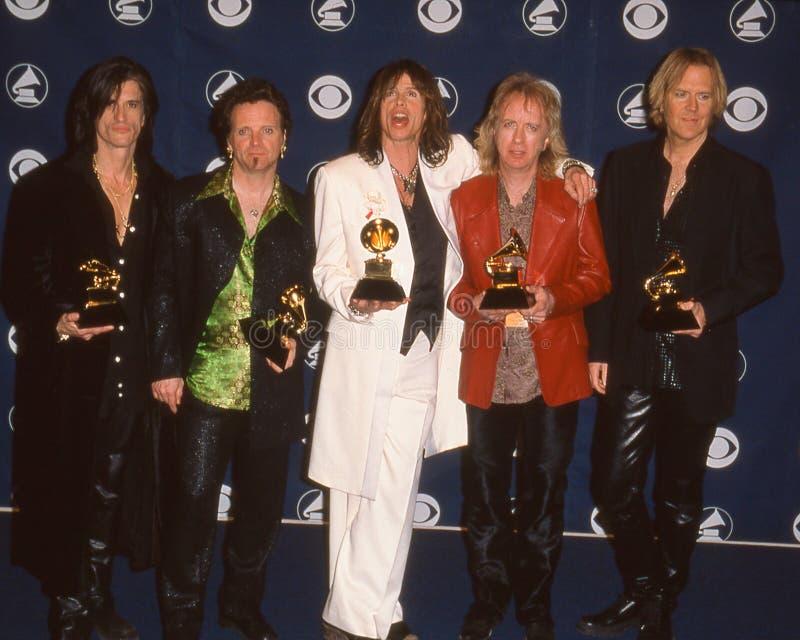 在Grammy奖的Aerosmith 免版税库存图片