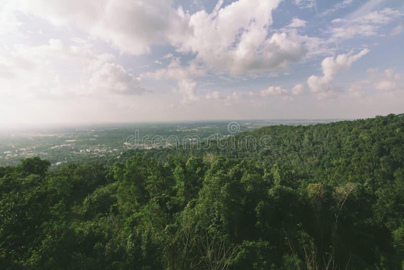 在haiyai的高地 库存照片