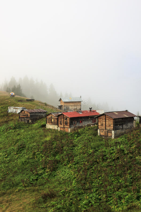 在Kackar山的Pokut高原在土耳其 库存图片