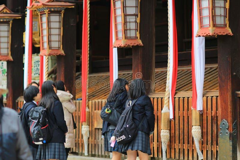 Download 在Kitano Tenman顾寺庙京都的visiter 编辑类库存图片 - 图片 包括有 的btu, 人们: 108745614