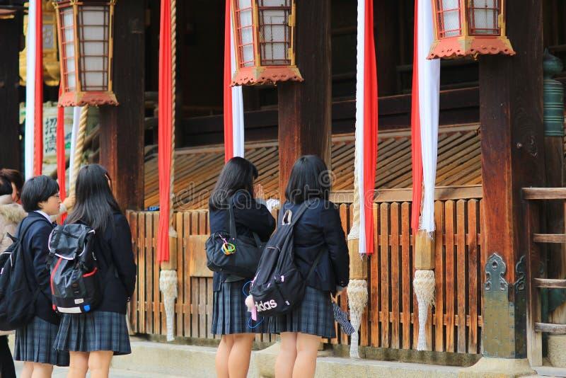 Download 在Kitano Tenman顾寺庙京都的visiter 编辑类图片 - 图片 包括有 著名, 发芽: 108745640