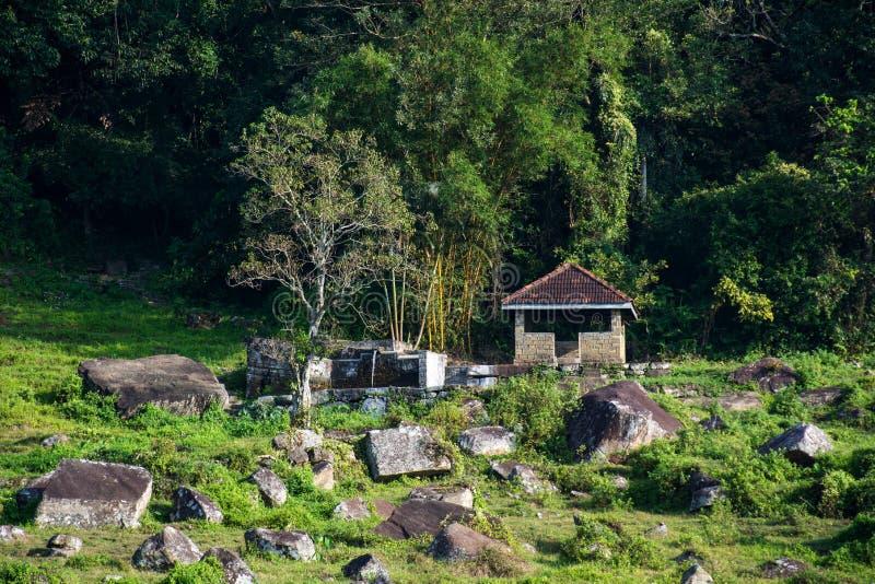 在kotmale,斯里兰卡的乡区 免版税库存图片