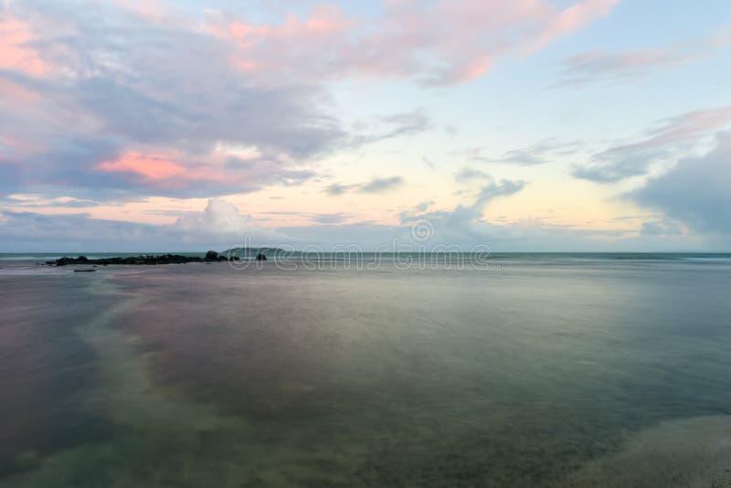 在Las Croabas,波多黎各的海滩 免版税库存照片