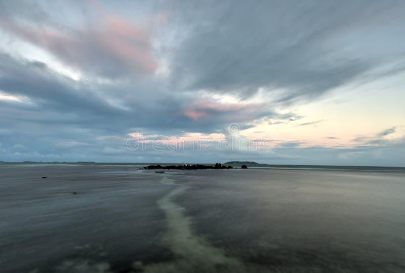 在Las Croabas,波多黎各的海滩 免版税库存图片