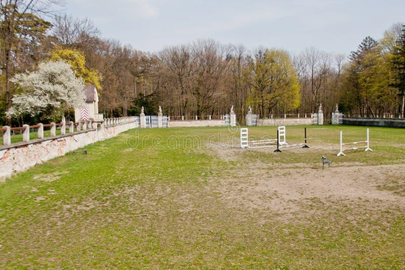在Laxenburg城堡,奥地利的Showground 库存照片