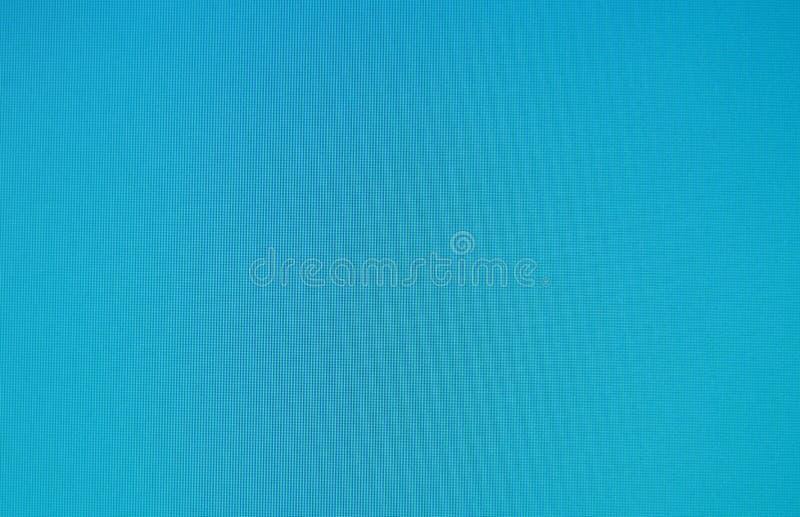 在LCD屏幕背景和纹理的蓝色颜色 免版税库存照片