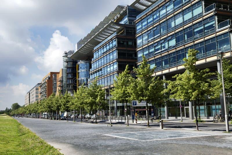 Linkstrasse, Potsdamer Platz,柏林 库存图片