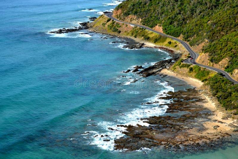 伟大的海洋路 库存照片
