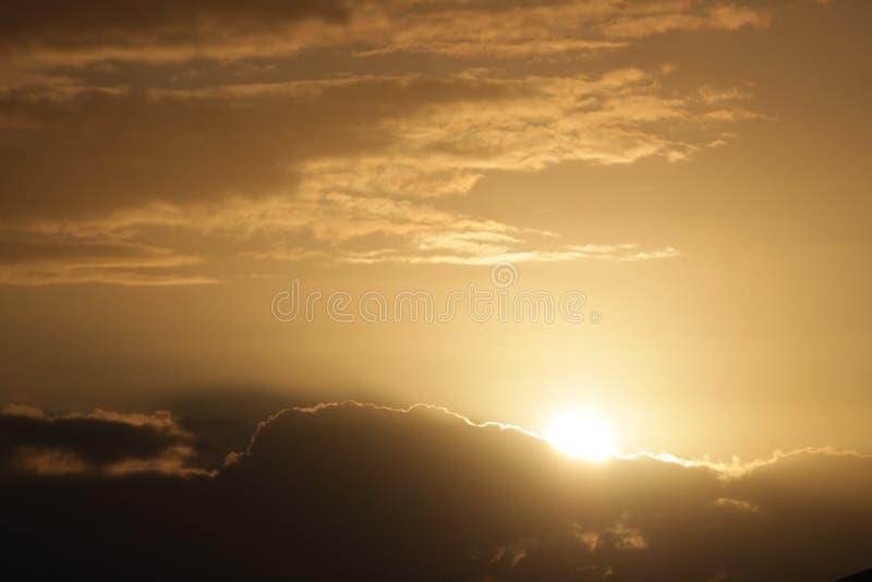 在Lutwyche,布里斯班的日出 库存图片