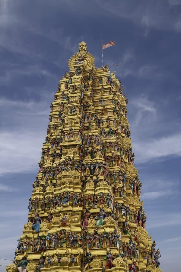 在Matale,斯里兰卡的印度寺庙 免版税库存照片
