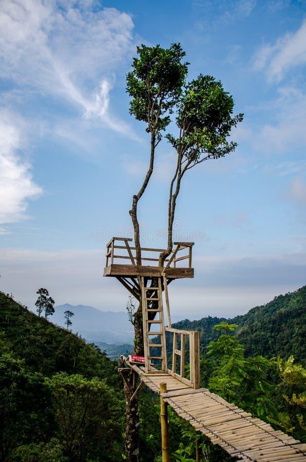 在Muria山的Bejagan小山 图库摄影