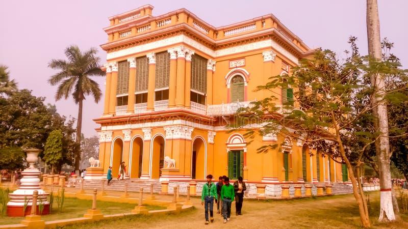 在mushidabad的旅游胜地在印度 免版税库存图片