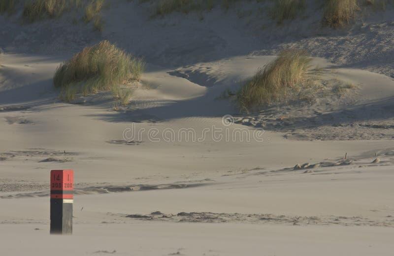 在Nes,阿默兰岛海岛,荷兰附近的波兰人十四 库存照片