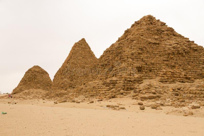 在Nuri的金字塔 库存图片