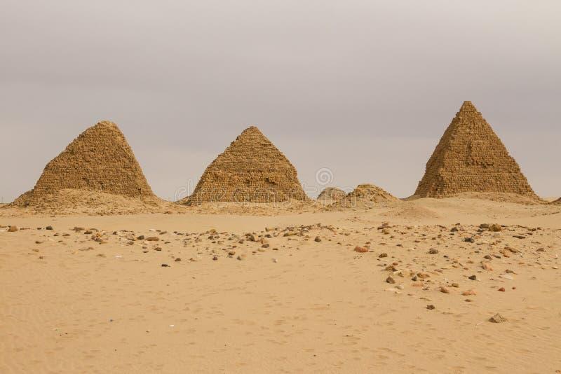 在Nuri的金字塔 库存照片