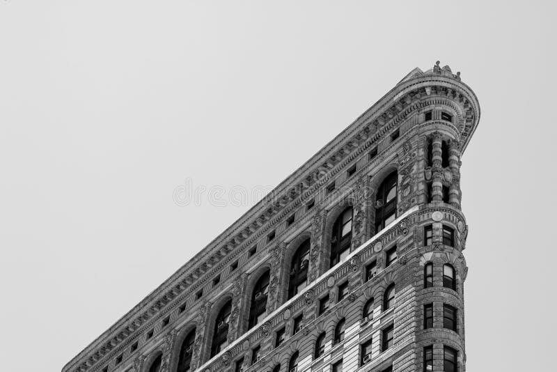 在NYC的顶面Flatiron大厦 免版税库存图片