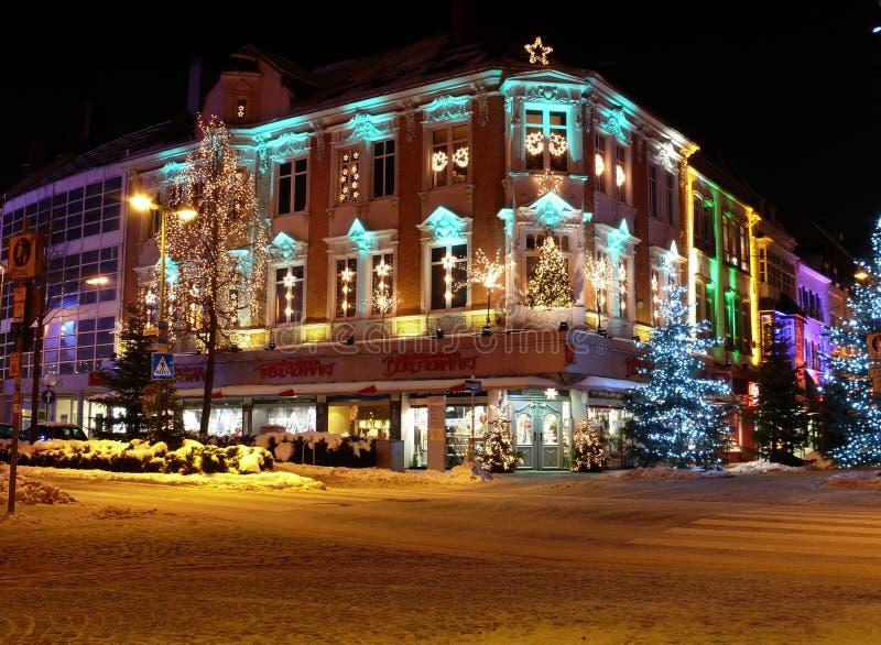 在Osnabrà ¼ ck, Osnabrueck的圣诞节 免版税库存图片