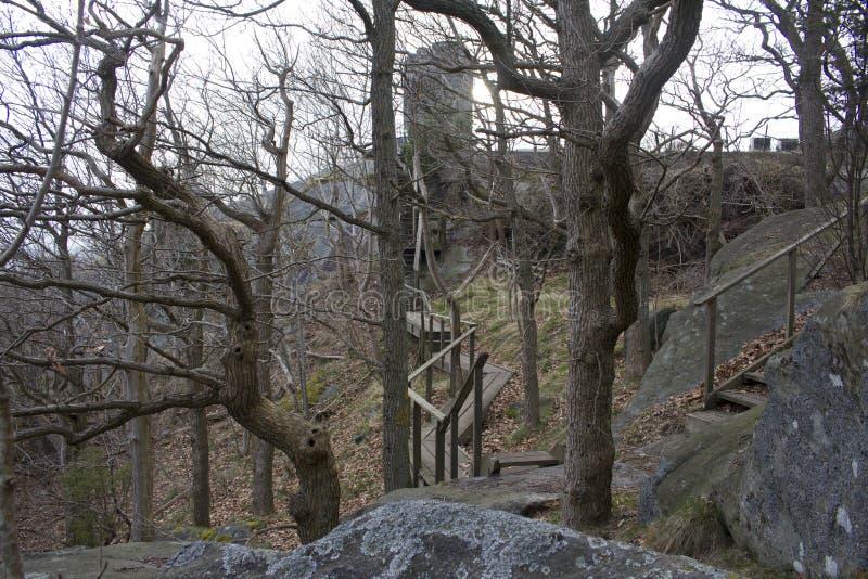 在Partille,瑞典的城堡 图库摄影