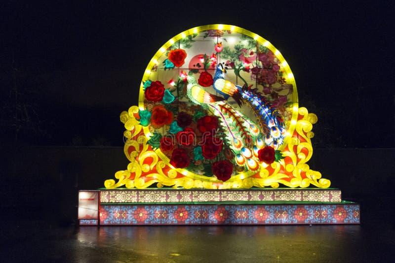 在PNE的温哥华汉语灯节 图库摄影