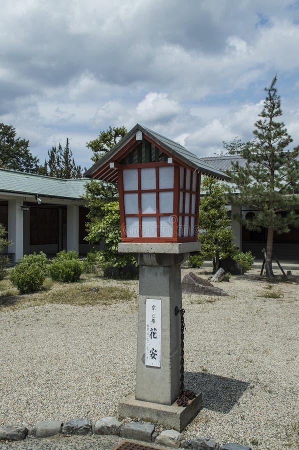 在Ryozen Kannon的红色灯笼 免版税库存图片