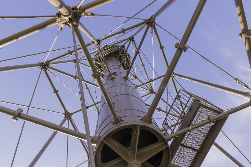 在Sanibel海岛的灯塔 库存图片