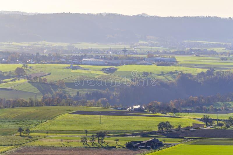 在Schwaebisch霍尔附近的Einkorn附近 图库摄影