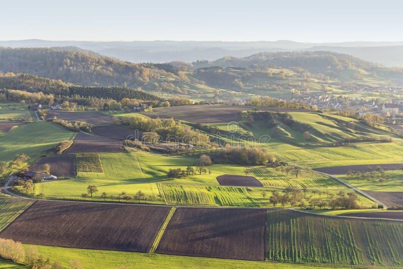 在Schwaebisch霍尔附近的Einkorn附近 免版税库存图片