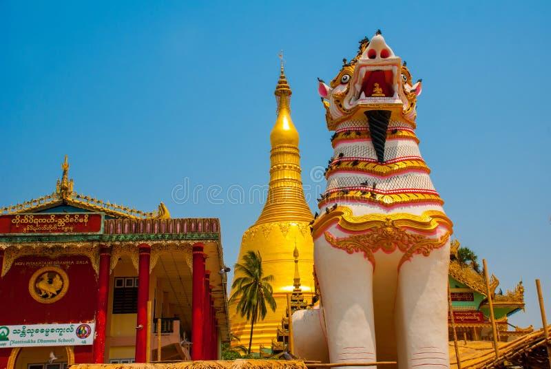 Download 在Shwemawdaw塔的Chinthe,在缅甸的Bago 缅甸 编辑类图片 - 图片 包括有 缅甸, 拱道: 72361700