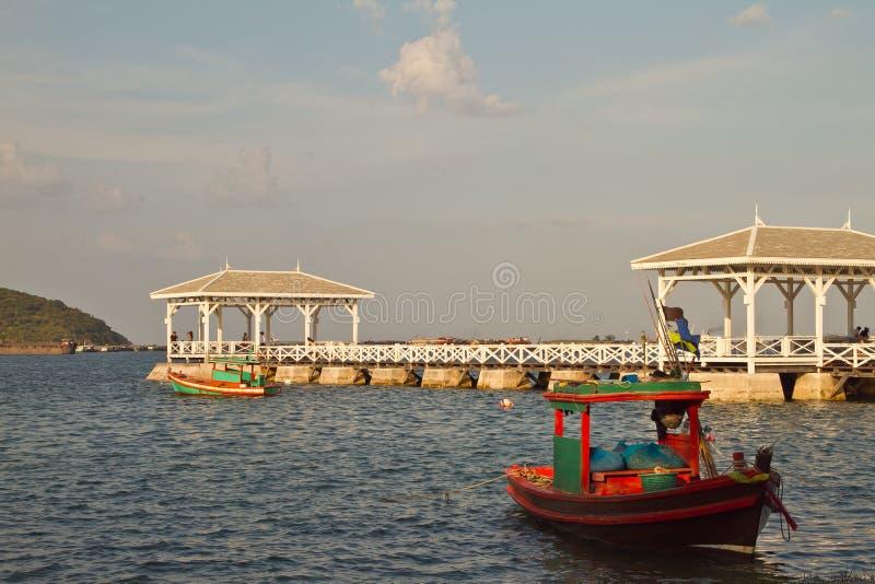 在Si苌氏的Atsadang桥梁 库存照片