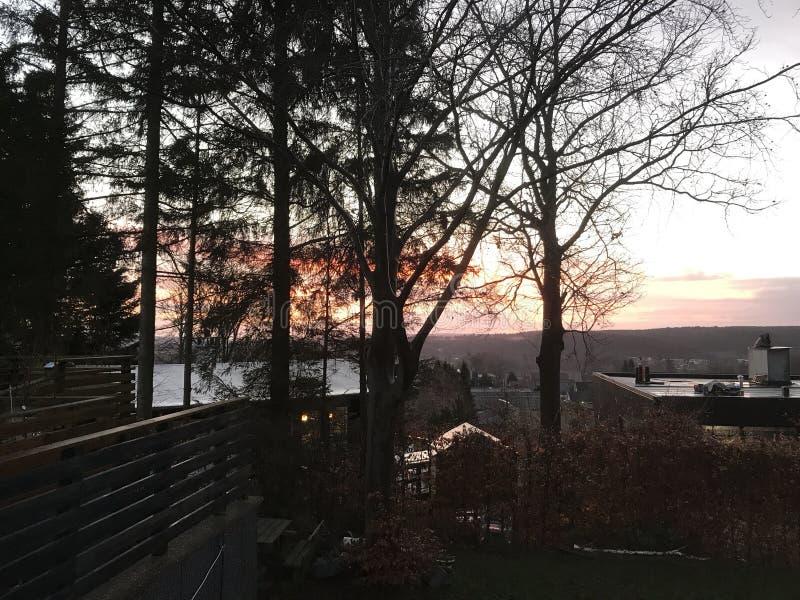 在Silkeborg的看法 库存照片