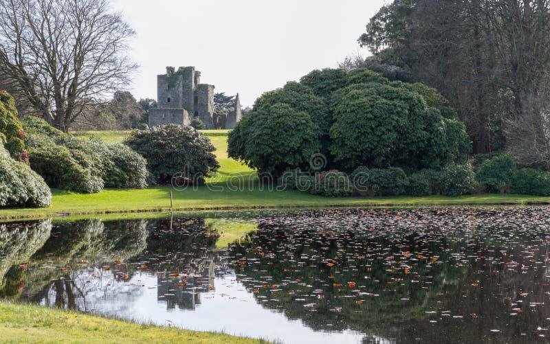 在Stranraer,苏格兰防御肯尼迪和庭院 库存图片