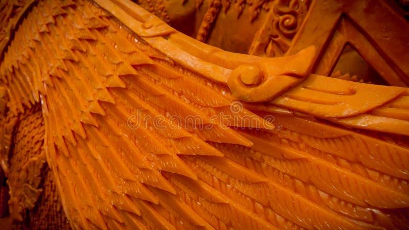 在Suranaree纪念碑的每年被借的蜡烛节日2559 免版税库存图片