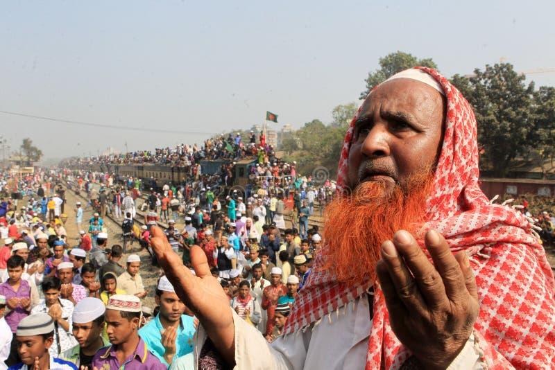 在Tongi,孟加拉国的Bishwa Ijtema 库存照片