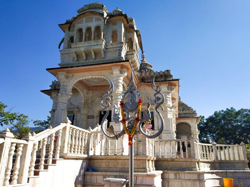 在tryambak nashik印度的寺庙 免版税库存照片
