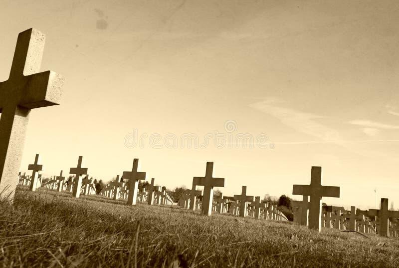 在Vimy第一次世界大战法国战场  免版税库存图片
